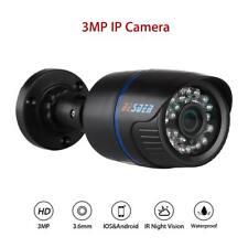 3MP HD 1080P IP Camera Smart Network 3.6mm IR Night Vision IP66 Waterproof RJ45