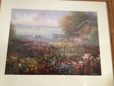 NICKY BOEHME BAYS DOMAIN art print 22X28 Wood Frame