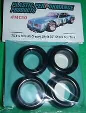 "NASCAR 1/25 70s-80s 10"" McCREARY TIRES SET STOCK CAR MODEL PPP MC10"