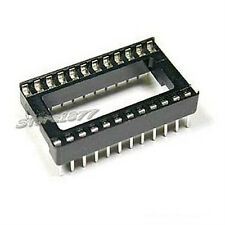 New 20pcs ICs Integrated Circuit 24 Pin DIP ICs Sockets Adaptors