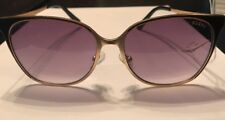 GUESS Women's Sunglasses Black/Gold Frame New Retail $74