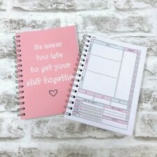 Food Diary SLIMMING WORLD Weight Loss Journal Notebook BK 2 - GET SH*T TOGETHER