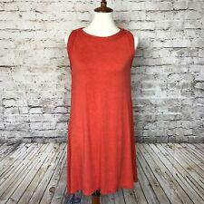 MAX STUDIO Designer Women's Rust Orange  Sleeveless Dress Size XS