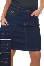 Faldas de mujer mini azules sin marca