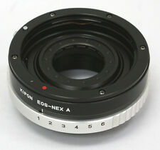 NEW Kipon Canon EOS EF mount Lens to Sony NEX E adapter Aperture NEX-7 5 5N