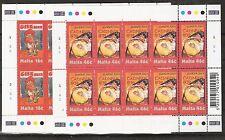 CEPT, Europa 2003 Malta, mi 1274/1275 en el arco pequeño, fresco post, kw 35,00 €