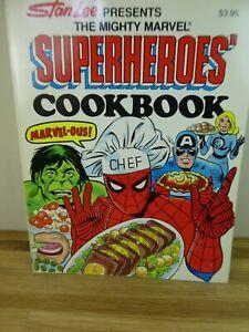 Vintage Stan Lee Presents The Mighty Marvel Superheroes Cookbook!