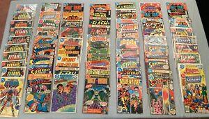 Look! BIG Lot of *100* Late Bronze DCs! Batman/Superman/JLA/Titans/Legion/War+++