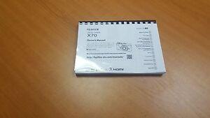 FUJIFILM X70 DIGITAL CAMERA  PRINTED USER MANUAL GUIDE HANDBOOK 164 PAGES A5