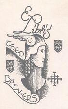 Ex Libris Harry Corvers : Opus 52, Theo Backers