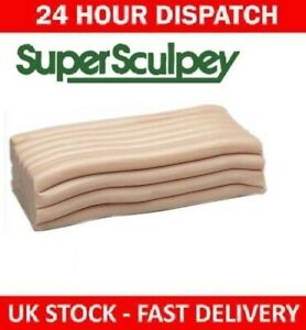 Super Sculpey Original Beige 170g 1/4lb 85g SS1 Fimo Pottery Clay Modelling Tool
