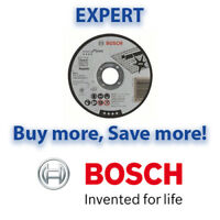 "Bosch 115mm 4.5"" x 22.23 x 1mm Thin Metal Inox EXPERT Cutting Discs 10/25/100"