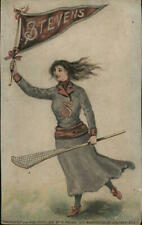 New Jersey Stevens Institute of Technology College Girl Lacrosse Postcard