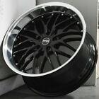 20x8.5 20x10 Mrr Gt1 Black Wheels Fits Infiniti G35 G37 M37 M45 350z 20 Rims