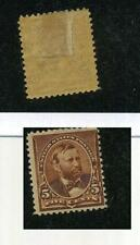 SCOTT 223 UNITED STATES .05 STAMP MHH 1258F