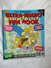 Simpsons Ultra-Jumbo Double Fun Book~Matt Groening~Bart Marge Lisa Homer~LBDEE