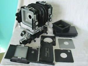 Arca Swiss 6x9cm View Camera w/ Accessories Lens Board Bellows Back