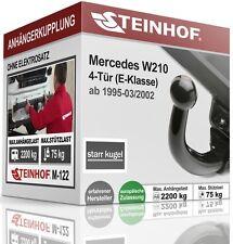 Anhängerkupplung AHK starr Für Mercedes-BENZ W210 95-02 QUALITÄT