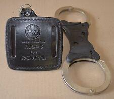 Original UK Polizei Handschellen Hiatts,Handschelle,Britische Polizei, mit Hülle