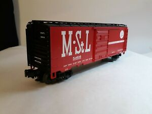 MTH M&STL 40' BOX CAR, CAR# 54616, ITEM #20-93148