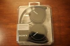 *NEW Open Box* Sony ZX Series Headphones Black MDRZX110 FAST SHIPPING