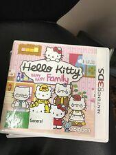 hello kitty happy family 3DS
