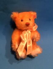 "STEIFF ""MINI LOVES ME, LOVES ME NOT"" EAN 666780 YELLOW TIPPED MOHAIR 2002 6 1/4"""