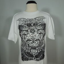 DISMEMBER Band Logo T-Shirt White Men's size L (NEW w/defects)