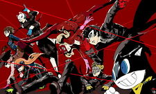 "YX01933 Persona 5 - Hot Video Game 23""x14"" Poster"