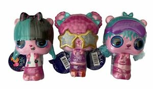 Set of 3 - POP POP Hair Surprise 3-in-1 Pops Assortment Mystery Pack - Series 1