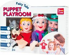 PUPPET PLAYROOM LITTLE RED RIDING HOOD HAND PUPPETS X 4 PUPPETS NEW IN BOX