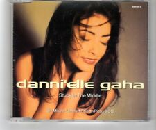 (HQ949) Danni'elle Gaha, Stuck In The Middle - 1992 Ltd Ed picture CD