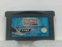 SONIC ADVANCE Gameboy Advanced GBA Scratched