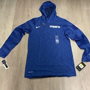 NWT Nike Men's Kentucky Wildcats Dri Fit Long Sleeve Hooded T Shirt Size S