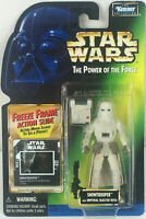 Star Wars POTF 3 Collection Snowtrooper w Blaster Action Figure Kenner 1997 NEW