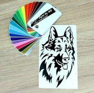 German Shepherd Dog Car Sticker Vinyl Decal Adhesive Window Bumper Tailgate BLAC