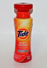 TIDE STAIN RELEASE IN-WASH BOOSTER 20 FL OZ LIQUID HARD TO FIND RARE