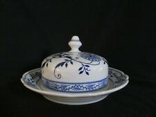 Hutschenreuther BLUE ONION - Covered Butter Dish