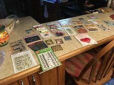 Huge lot of new and used scrapbook stickers and other items