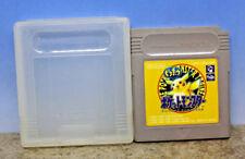 Pokemon Yellow Gameboy Japanese Import Cartridge Case Only 1995 DMG-APSJ-JPN (C)