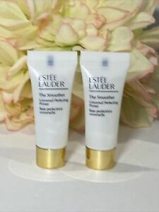 Lot of 2, Estee Lauder The Smoother Universal Perfecting Primer .17oz Free Ship