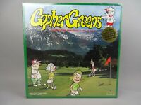 Gopher Greens Golf Board Game NEW SEALED 2+ Players 1993 Sport Golfing