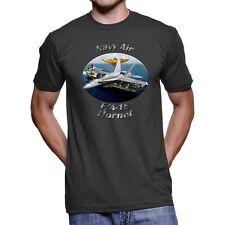 F/A-18 Hornet Navy Air Men`s Dark T-Shirt