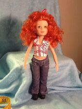 "2005 Madame Alaexander Stilettos Kikki 9"" Red Hair Doll Platform Shoes"