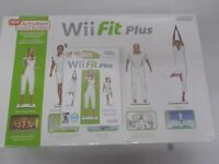 Wii Workout Bundle Nintendo Wii Fit Plus with Balance Board-Very Clean- 3 Games