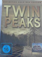 Twin Peaks Gold Box - komplette TV Serie - Kyle MacLachlan, Kiefer Sutherland