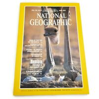 Vtg National Geographic Magazine Volume 161 No 6 June 1982 Mint Condition