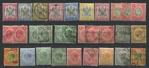 "BRITISH CENTRAL AFRICA - A Card of various issues 1896 / 1933  Definitives  "" ."