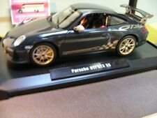1/18 NOREV Porsche 911 Gt3 RS 2010 Dark Grey 187569