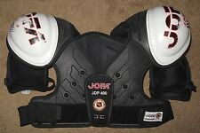 VINTAGE Rare Sports Protection NHL JOFA JDP 400 Hockey Black Shoulder Pad Sz L